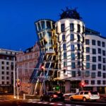 The Dancing House by Frank Gehry and Vlado Milunić