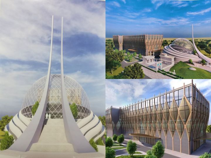 Design proposal for a new Mosque and Hospital at Ayodhya