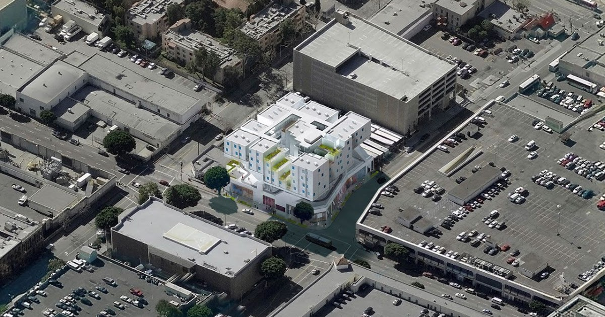 Star Apartments by Michael Maltzan Provided Homes For 102 Homeless